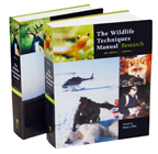The Wildlife Techniques Manual, 7th edition edited by Nova J. Silvy $112.50 (reg. $150.00)
