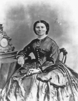 Clara Barton, c. the 1860's.  Matthew Brady Civil War Photographs.  American National Red Cross Photographs Collection, Library of Congress.