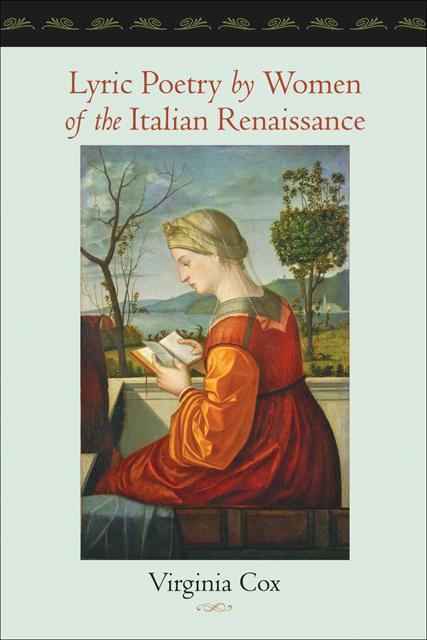 Lyric Poetry by Women of the Italian Renaissance $20.97 (reg. $29.95)