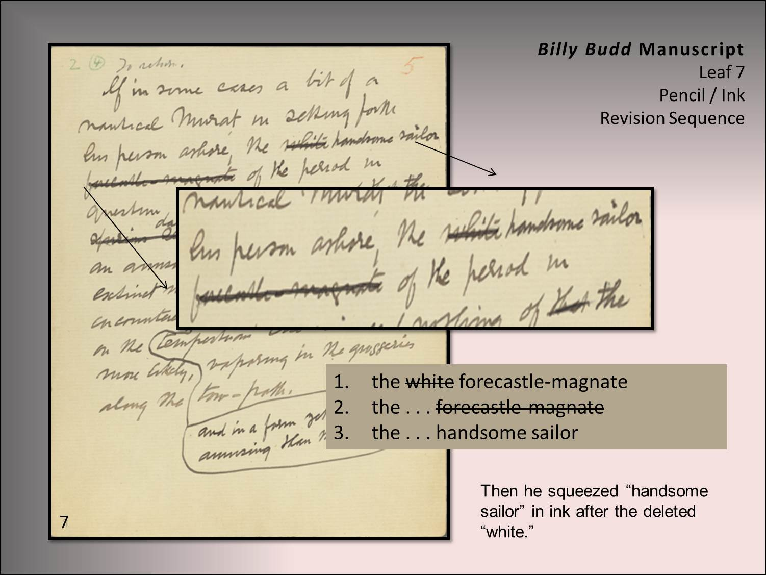 billy budd essays As a result, he becomes popular at the main and sub-areas within the ship not known to many, this becomes a pivotal point for the problems despite melville.