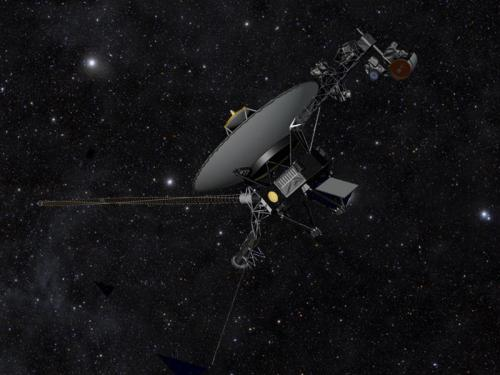 Voyager the Explorer. NASA/JPL-Caltech