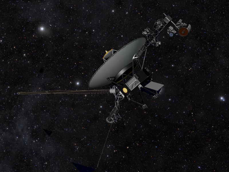 Voyager the Explorer. NASA/JPL-Caltech