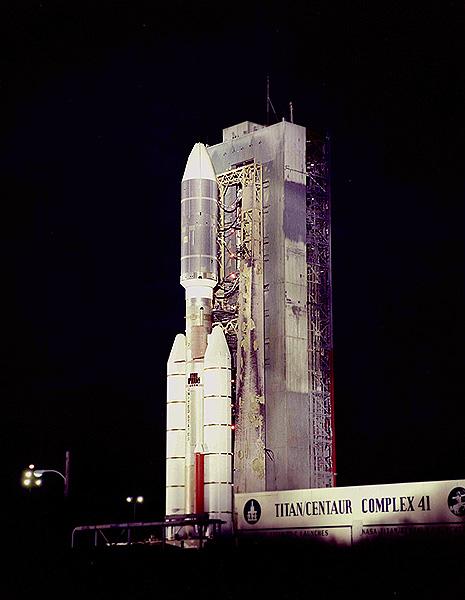 Titan/centaur Rocket. Credit: JPL