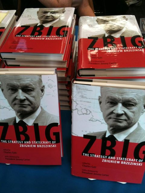 Copies of Zbig: The Strategy and Statecraft of Zbigniew Brzezinski, edited by Charles Gati