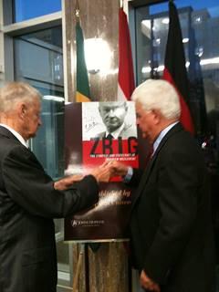 Zbigniew Brzezinski and Charles Gati