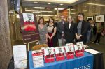 JHU Press staff: Publicist Robin Noonan, marketing director Becky Clark, publicist Jack Holmes, director Kathleen Keane, and editor Suzanne Flinchbaugh. (Credit: Kavah Sardari. Sardari Group, Inc.)