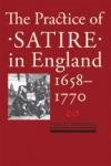 The Practice of Satire in England, 1658-1770 $41.97 (reg. $59.95)