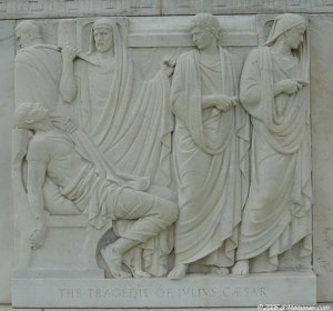 Julius Caesar frieze