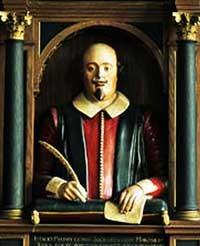 Shakespeare Bust Holy Trinity