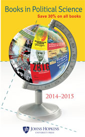 JHUPBooksinPoliticalScience2014-2015