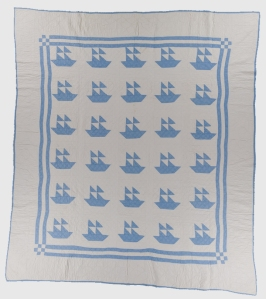 Sailboat, unknown Amish maker, c. 1930-1950. Possibly made in Ohio. International Quilt Study Center & Museum, University of Nebraska-Lincoln.