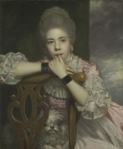"Current title: ""Mrs. Abingdon (c. 1737-1815).""  Location: Yale Center of British Art. For more info see No. 103 at www.whatjanesaw.org."