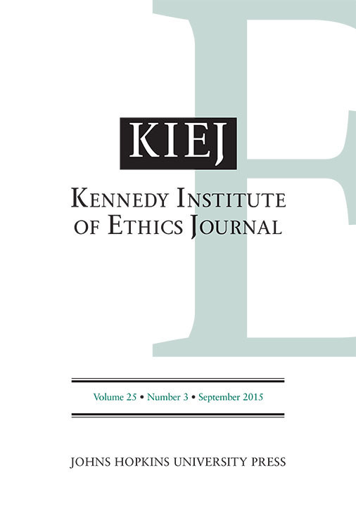 Kennedy Institute of Ethics Journal