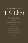 The Complete Prose of T.S. Eliot: Volume 3